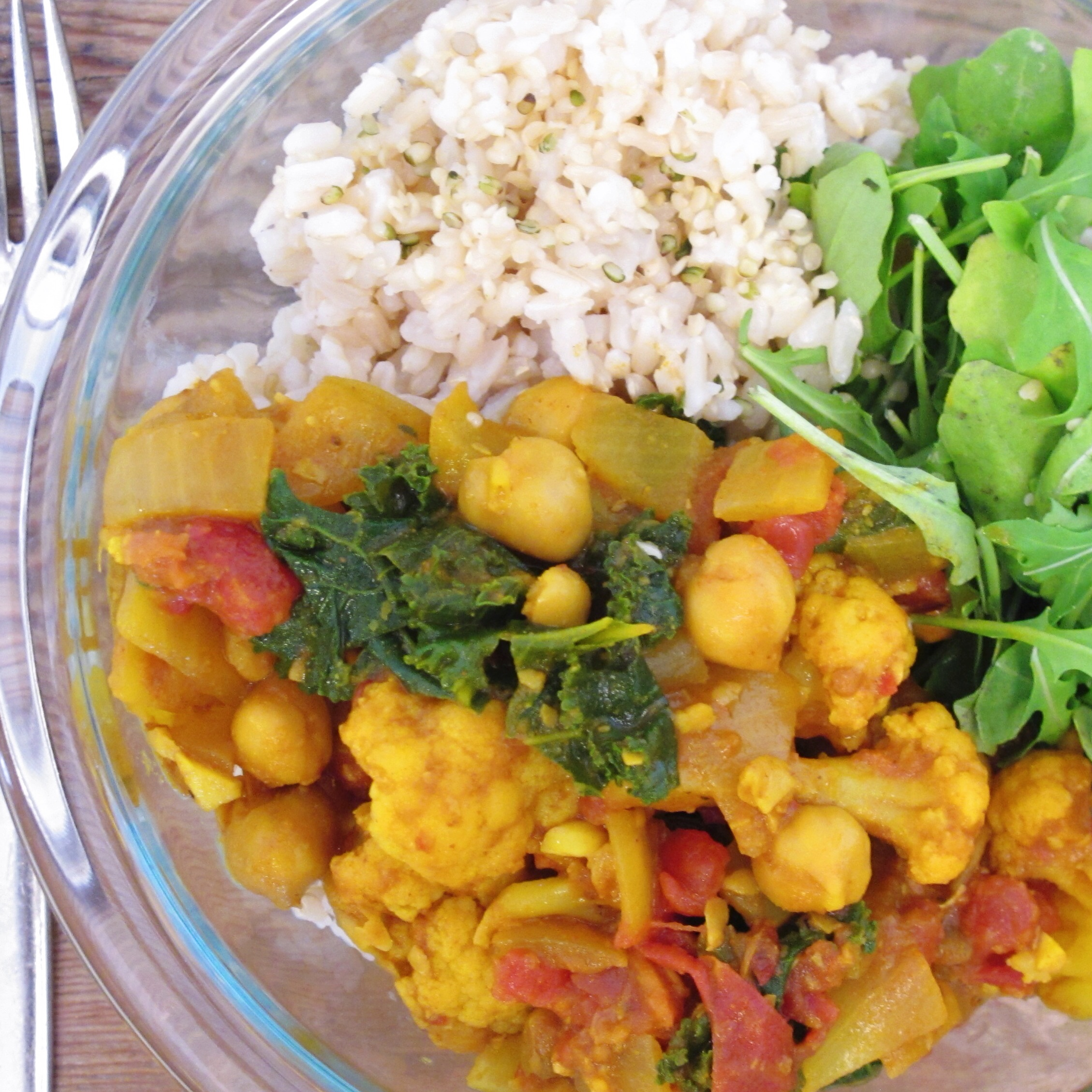 Chickpea and Cauliflower Curry, vegan and plant based recipe ...