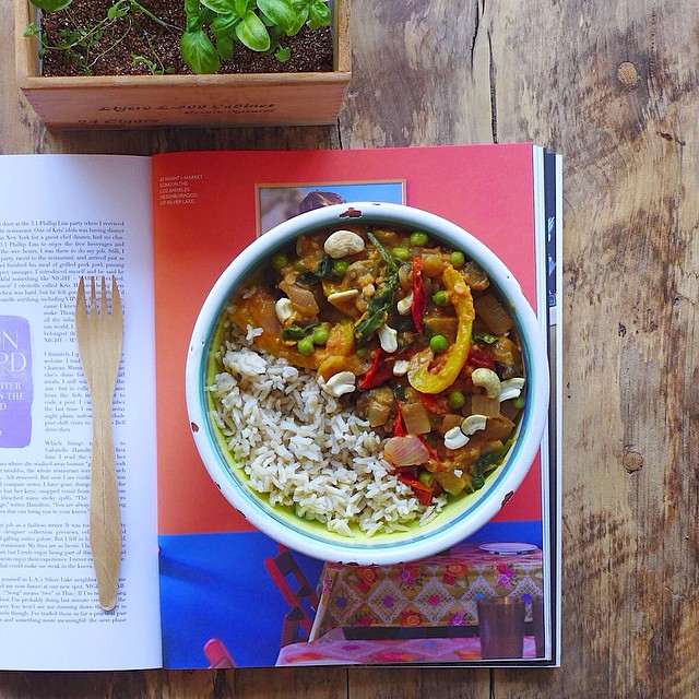 Late Summer Vegetable Curry with tomato, eggplant, and bell pepper-vegan + gluten free + one pot // inmybowl.com