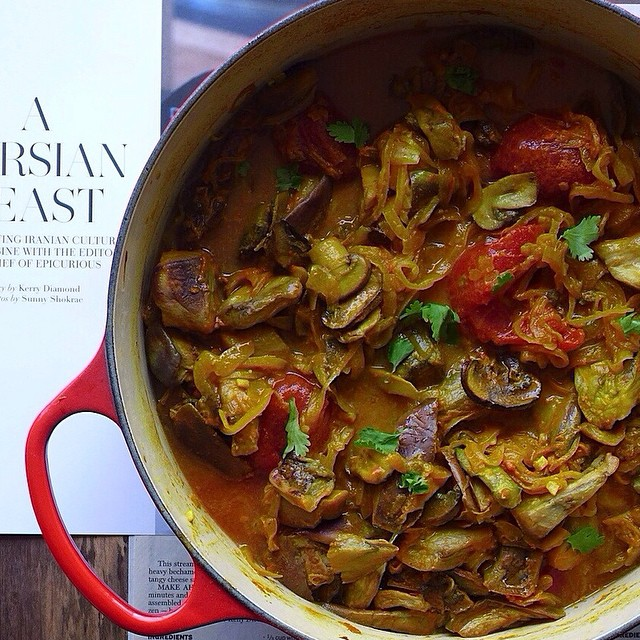 Persian eggplant stew - Best vegetarian paleo recipes
