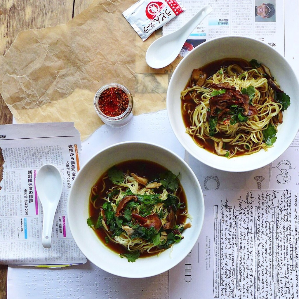 Vegan Roasted Vegetable Ramen Recipe + Emporiyum, Washington DC // inmybowl.com