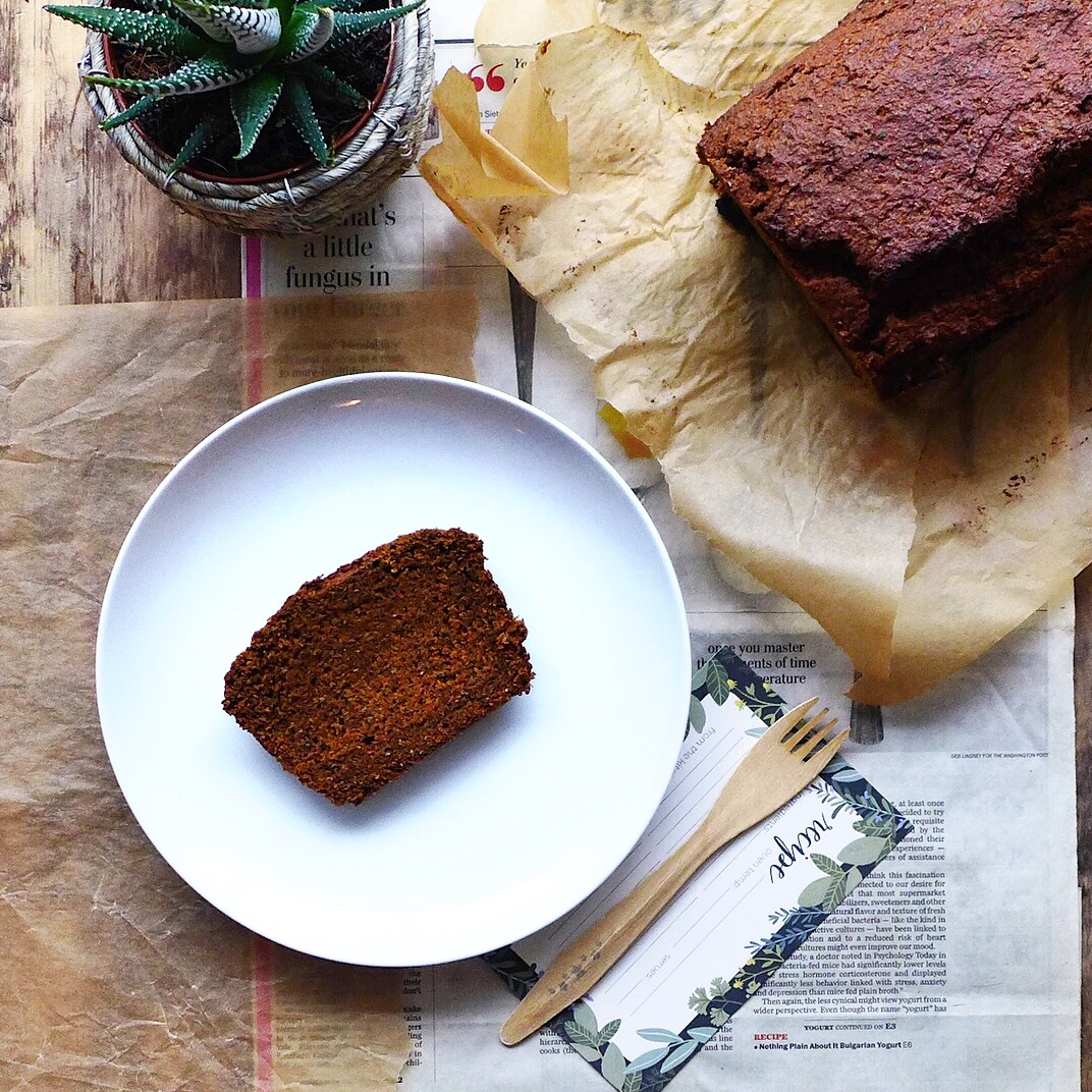 Mimi's Pumpkin Bread + A Reflection, (#vegan) // inmybowl.com