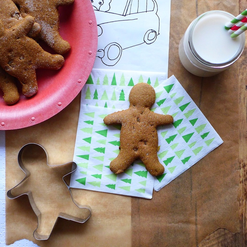 Maple & Pumpkin Gingerbread Men (vegan) // inmybowl.com