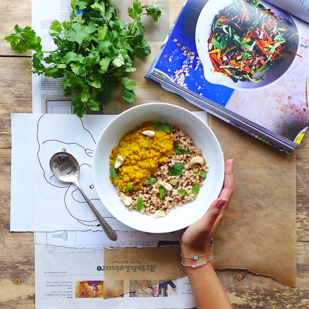 Simple Yellow Lentil Dal (vegan) // inmybowl.com