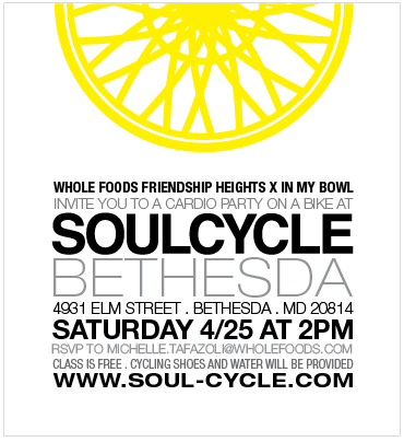 Whole Body Wellness Gathering [SoulCycle x Whole Foods] - #vegan smoothie + toppings demo // inmybowl.com