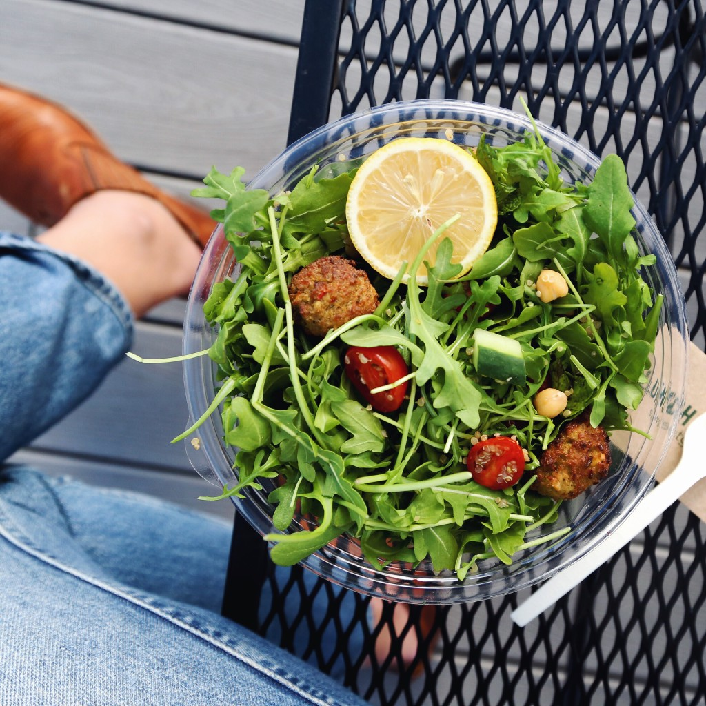 Washington, DC Vegan City Guide: Sweetgreen + baked falafel salad recipe // inmybowl.com